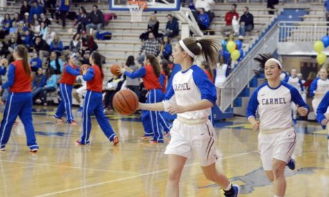 Carmel Girls Varsity Basketball vs. Jay County