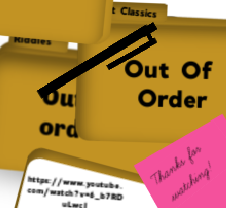 Out of Order - Riddles 1