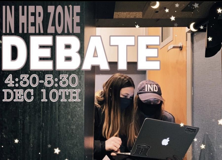 In Her Zone: Debate