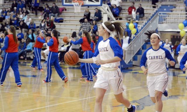 Carmel+Girls+Varsity+Basketball+vs.+Jay+County