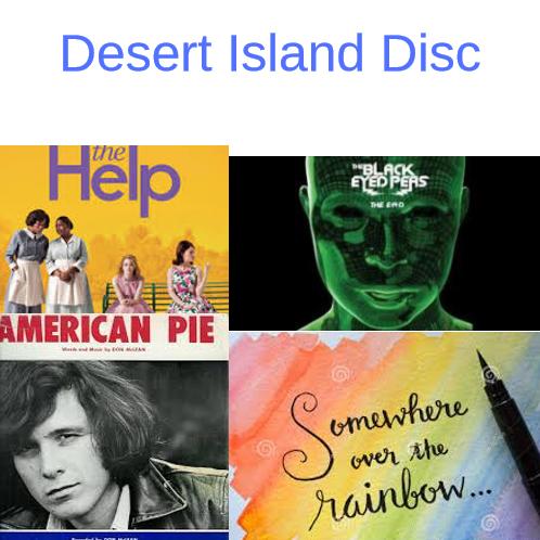 Desert Island Disc- Alison Fleischer