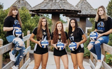 Blog Post #11- Girls Volleyball Senior Night