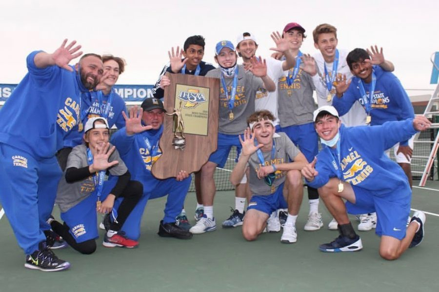 Blog Post #18- Carmel Tennis Wins State!