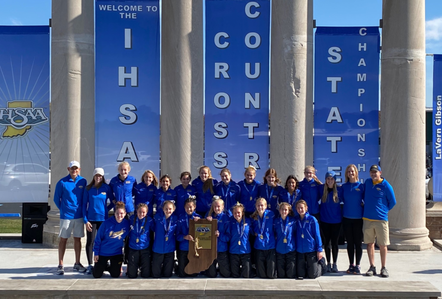 Blog Post #21- Carmel Cross Country Gets the Gold!